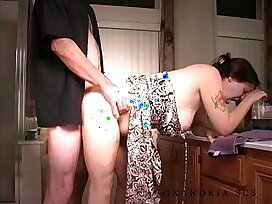 anal-homemade-older woman-pain