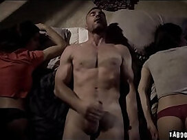 3some-fuck-old and young-old man-sex